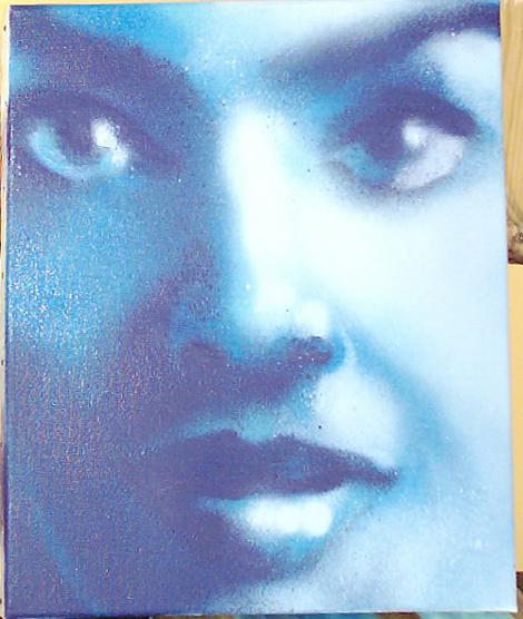 Girl in Blue – 2003