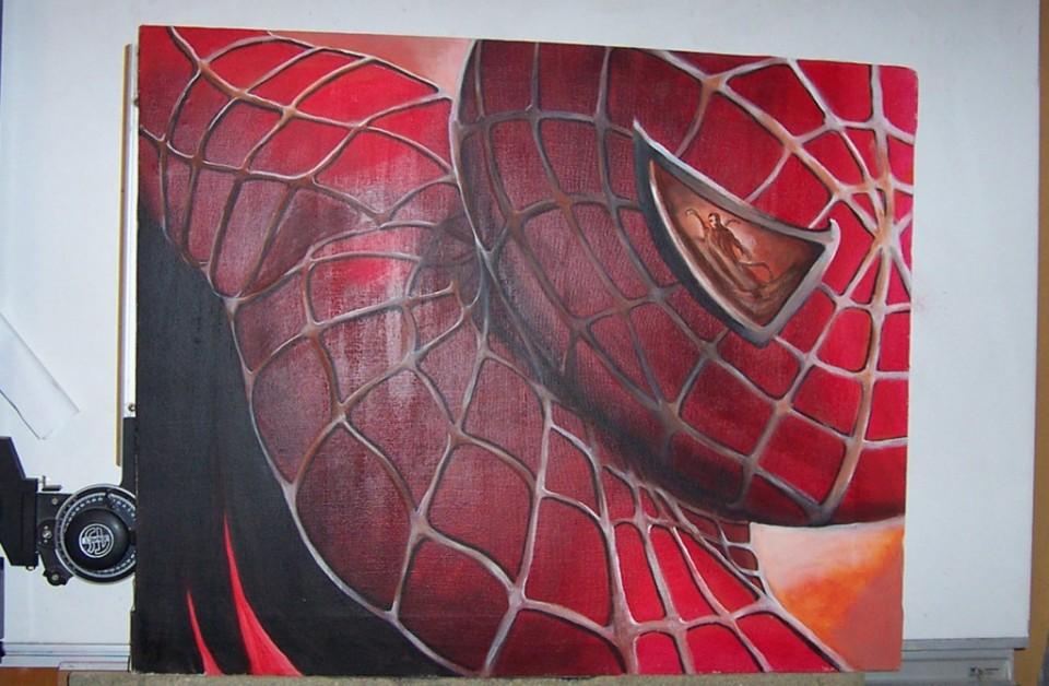 Spidey canvas