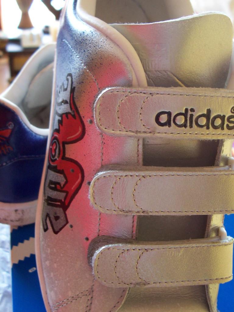 Whit3 x Adidas Adicolor