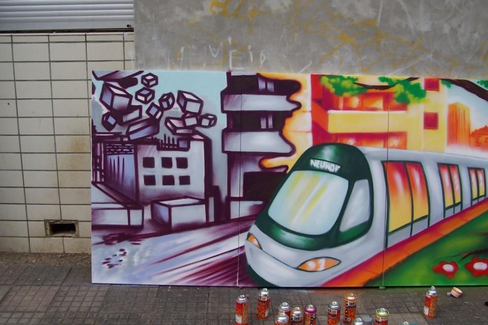 Atelier tram – neuhof – Strasbourg