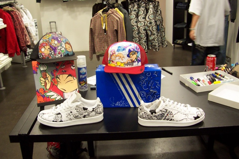 Mix up your shoes@Impact Shop – Strasbourg