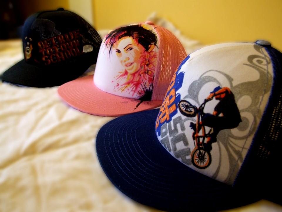 Caps for Impact Shop – Strasbourg