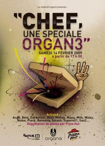Chef une spéciale Organ3 – Caen