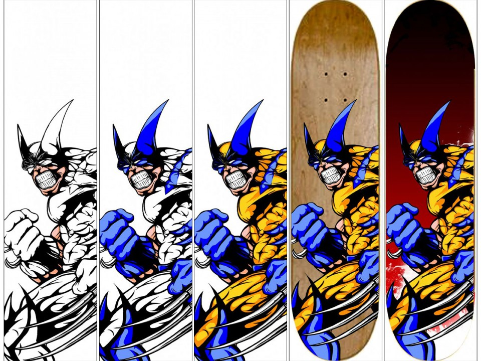 Wolverine Original skate Making off