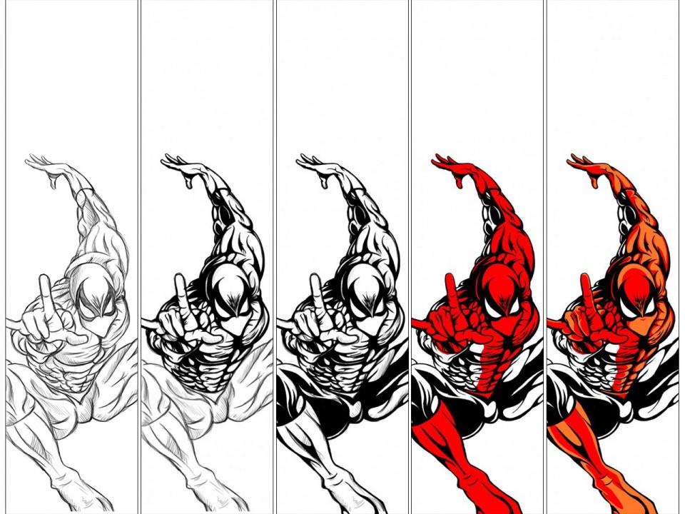 Noise's Spiderman Skate