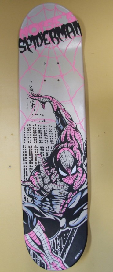 Noise's Spiderman Skate
