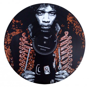 Disque RecycledBeings – Jimi Hendrix