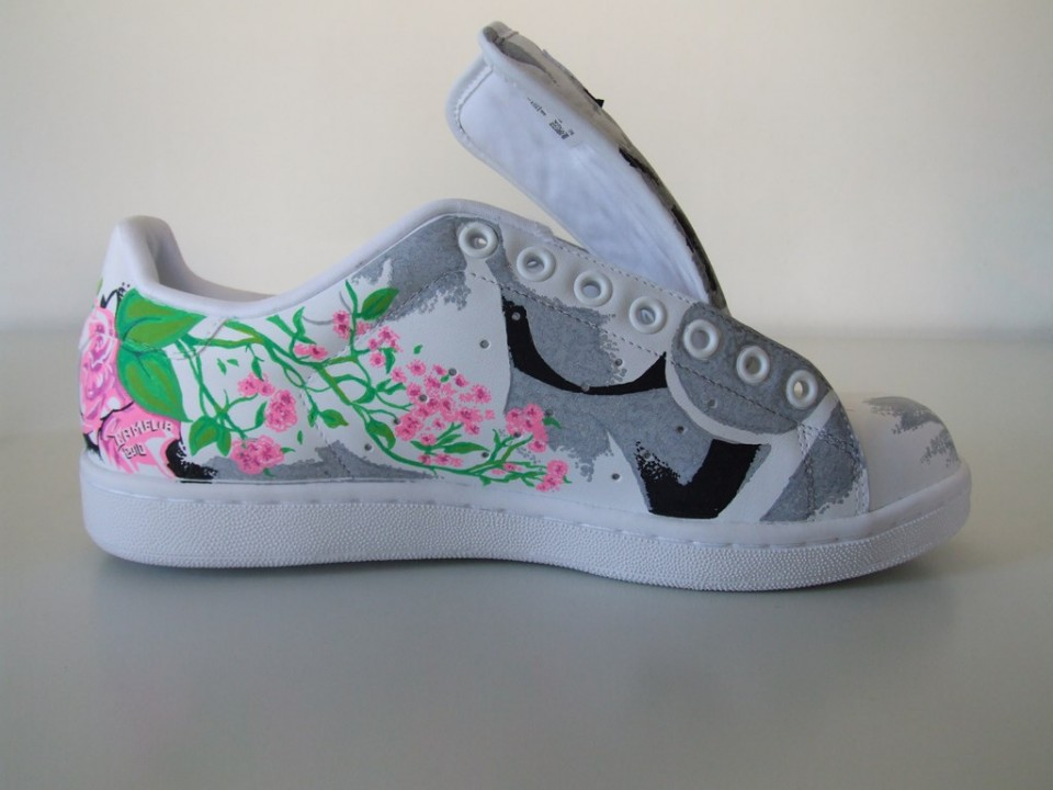 Adidas Stan Smith – Camelia – Paris | Noise aka N°15 | Paint