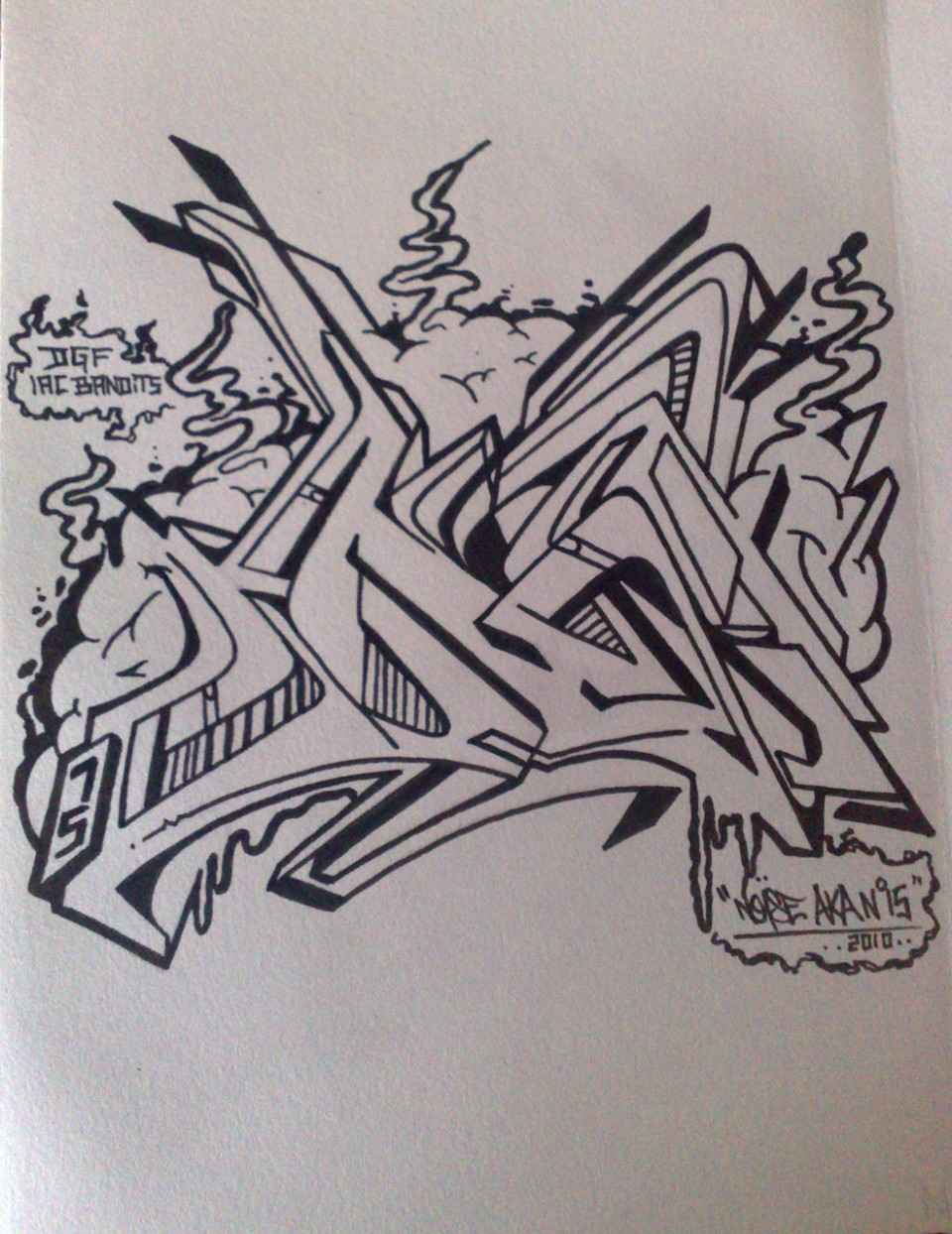 Pisko A-Z Book – N letter