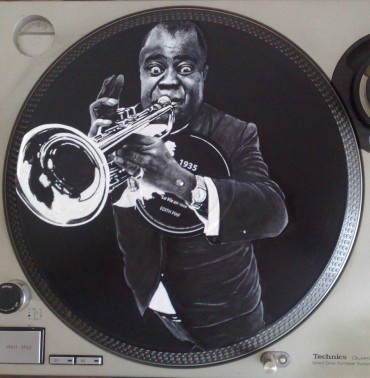 Disque RecycledBeings – Louis Armstrong