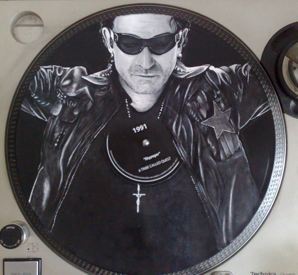 Disque RecycledBeings – U2