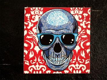 Holiday skull