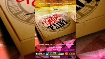 Exposition All You Can Paint – Pizza Box edition – Strasbourg