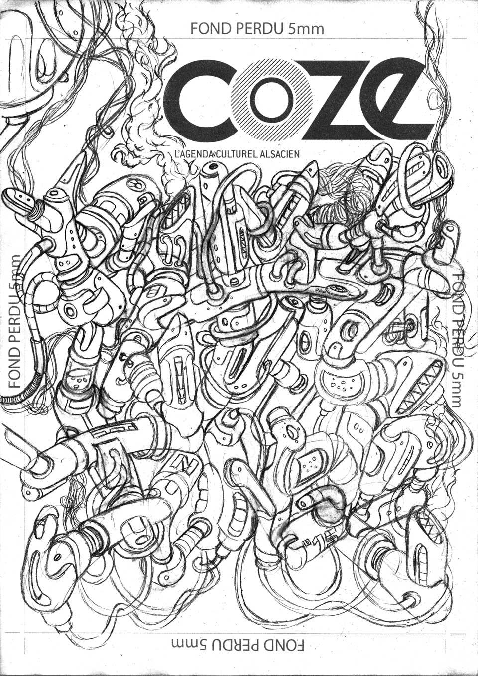 Couverture COZE #38 – Mai 2015