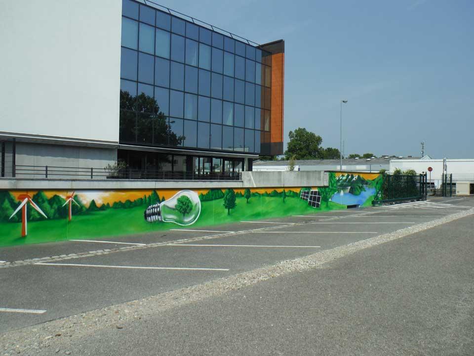 Décoration Parc de l'Energie – Hoenheim