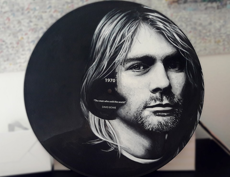 Disque RecycledBeings – Kurt Cobain