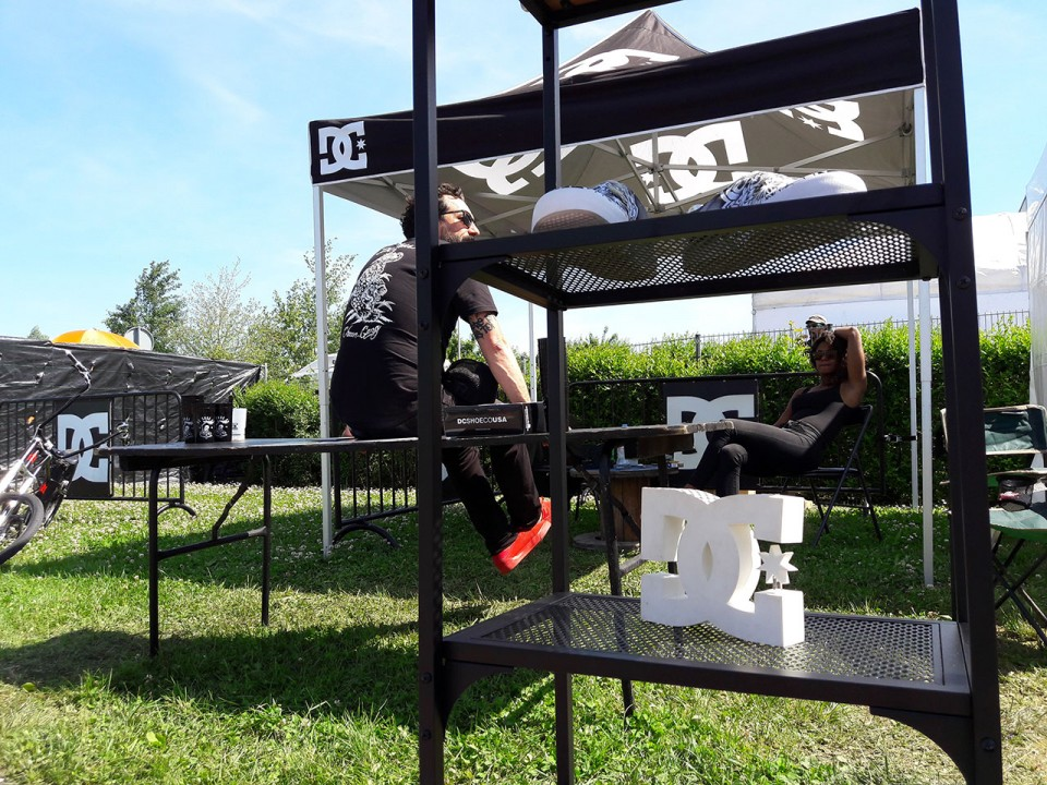 Stand DC Shoes au NL 2017 – Strasbourg